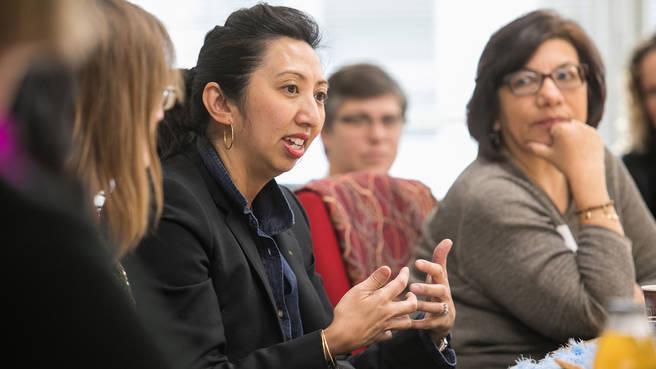 Members discuss smarter grantmaking practices.