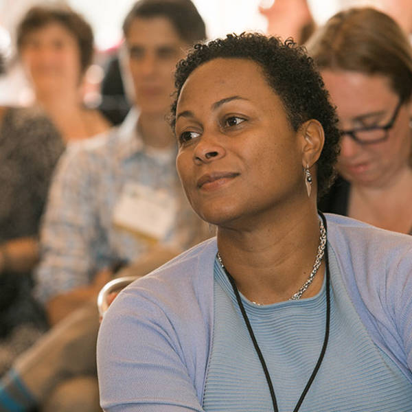 Members listen to Fail Fest presenters at The Learning Conference 2015.