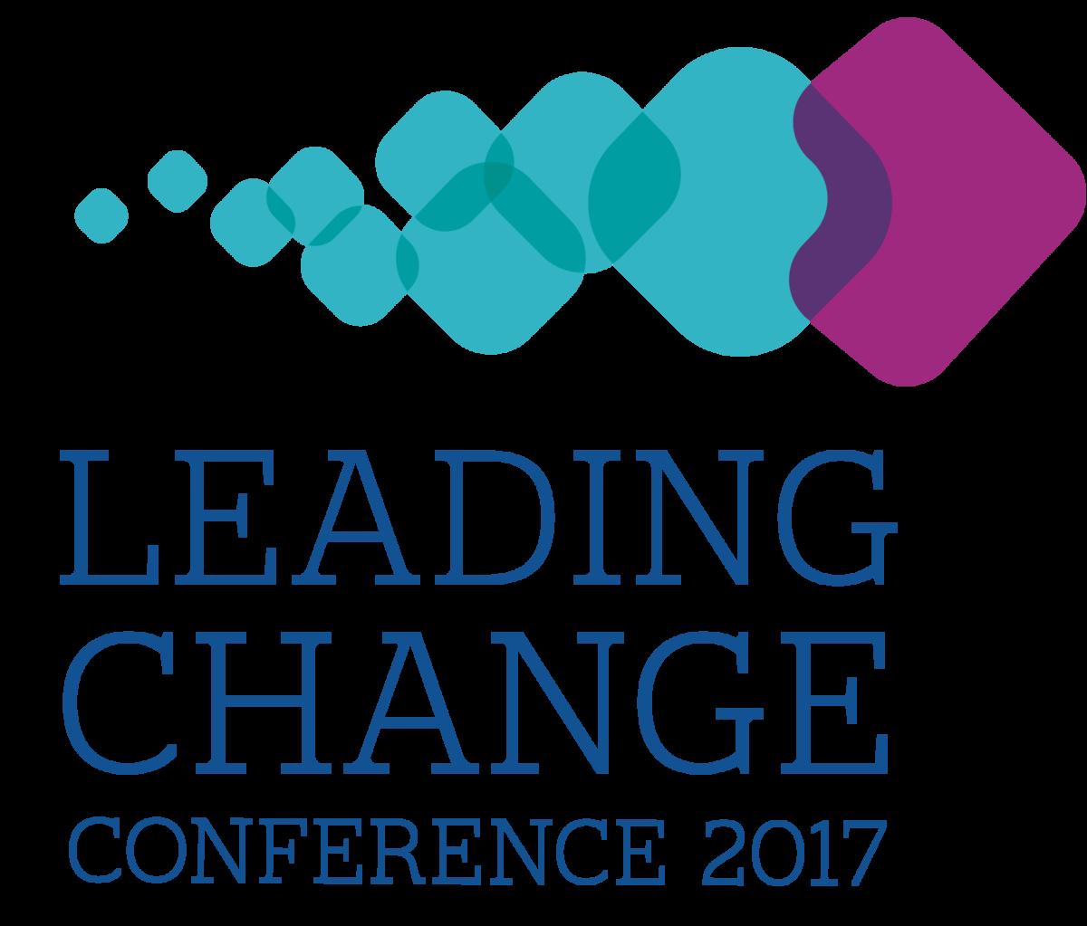 Leading Change Conference 2017 Logo