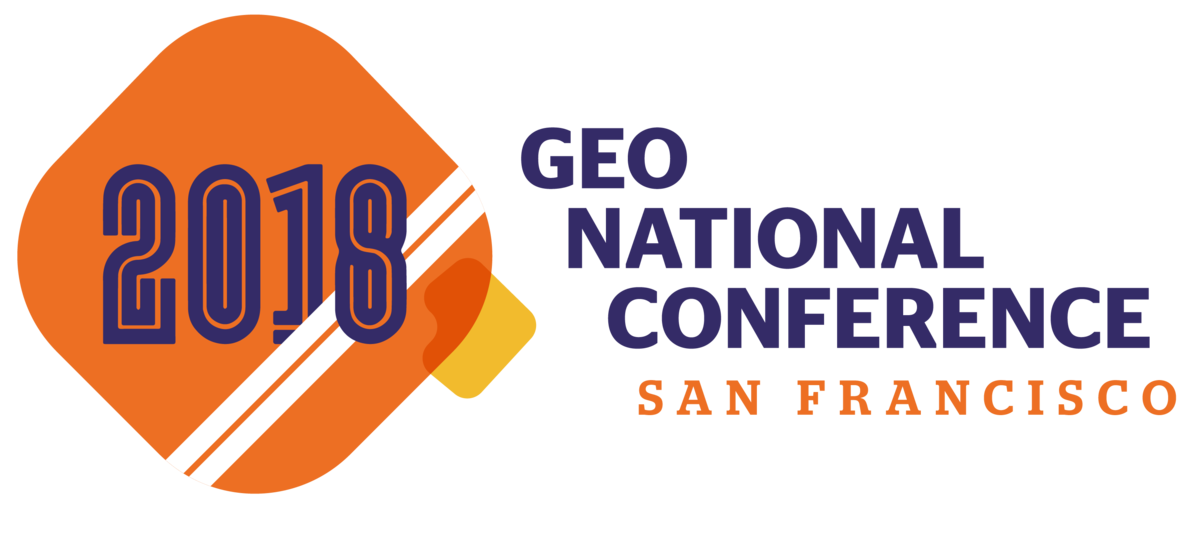 GEO's 2018 National Conference Logo