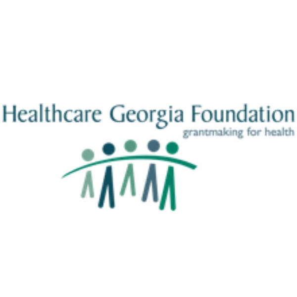 This is the logo for the Healthcare Georgia Foundtaion.