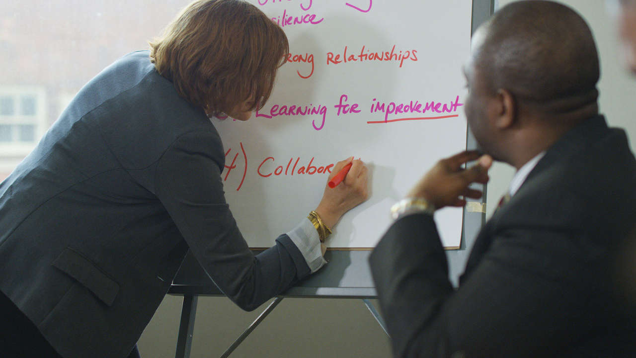 Members discuss GEO's core smarter grantmaking approaches.