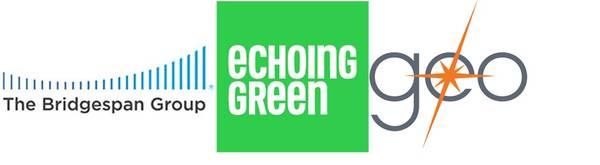 Bridgespan, Echoing Green & GEO logos