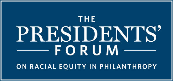 The Presidents Forum on Racial Equity in Philanthropy Logo